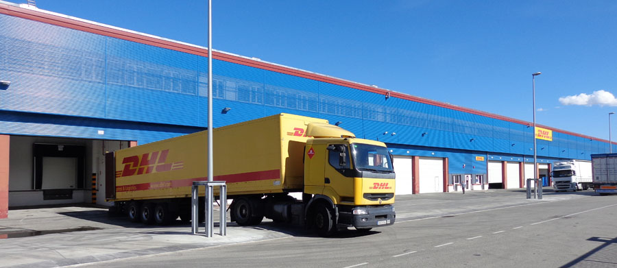 Instalaciones logisticas y transporte logicor y dhl for Dhl madrid oficinas