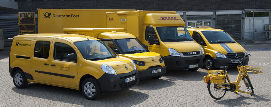 Flota ecológica Deutsche Post DHL Group