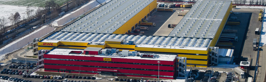 Instalaciones logisticas y transporte dhl automatiza la for Oficinas de dhl en barcelona